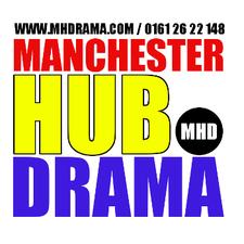 Manchester Hub Drama logo
