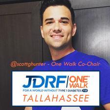Scott Hunter - JDRF One Walk Co-Chair logo