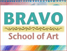 Bravo School of Art logo