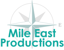 Mile East Productions logo
