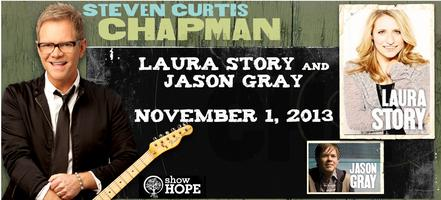 STEVEN CURTIS CHAPMAN and LAURA STORY CONCERT with JASO...