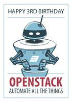 Openstack 3rd Birthday Party