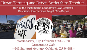 Urban Agriculture Teach-In at the Resilient...