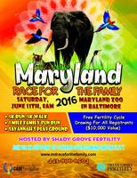 2016 Maryland Race for the Family hosted by Shady...