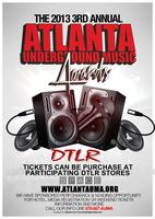 THE 2013 3rd ANNUAL ATLANTA UNDERGROUND MUSIC AWARDS