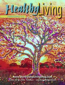 Healthy Living Magazine/Expo Mass. The Zen Loft Events by Candita Mamet CEO. logo