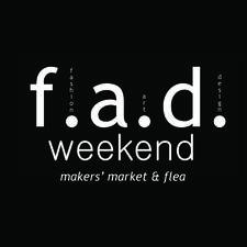 f.a.d. weekend logo