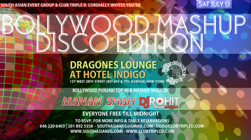 (SAEG) & CLUB 3XD PROUDLY PRESENTS BOLLYWOOD MASHUP...