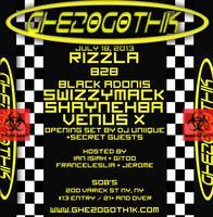 GHE20G0TH1K 7/18 FT. RIZZLA B2B BLK ADONIS +...