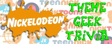 Nickelodeon Theme Geek Trivia