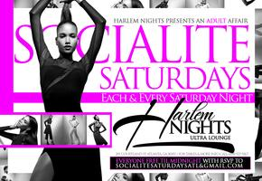 Socialite Saturdays at Harlem Nights