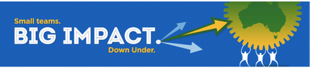 Rackspace Small Teams Big Impact: Down Under