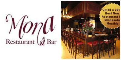 First Thursday Happy Hour at Mona Restaurant & Bar