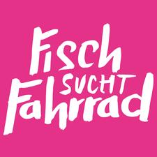 Fisch sucht Fahrrad - Party logo