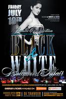 Black & White Bollywood Affair