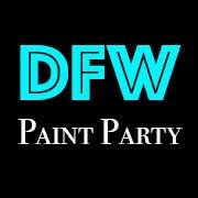 DFW PAINT PARTY logo