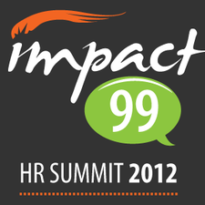 Re-Invent the Workplace - with Impact99 logo