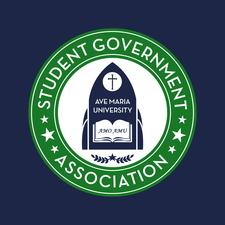 Ave Maria University Student Government Association logo