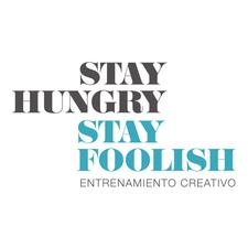 Stay Hungry Stay Foolish. Entrenamiento Creativo logo