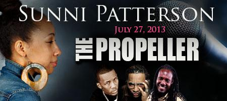 Sunni Patterson @ The Propeller July 27