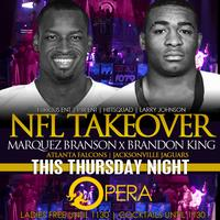 NFL TAKEOVER | 7.11.13 | Live on Hot 107.9