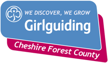 Girlguiding Cheshire Forest logo