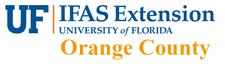 UF/IFAS Extension Service Orange County - - - Garden Florida ! logo