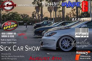 Sick Car Show  Presented by: Sick Car Meets, Envious...