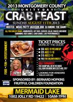 2013 RON CURTIS UNITY DAY/CRAB FEAST AGES 3-10 $15
