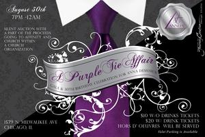 Purple Tie Affair: Silent Auction & 30th Bday...