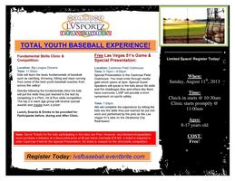 Total Youth Baseball Experience