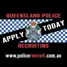 QUEENSLAND POLICE RECRUITING logo