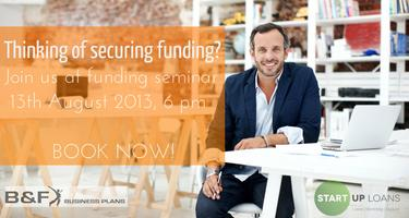 Calling all Entrepreneurs to be: how to find funding...
