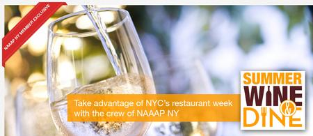 "NAAAP-NY ""Executive Dining"" feat. Juliet C., Gary C.,..."