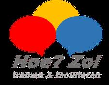 Hoe? Zo! | trainen & faciliteren logo