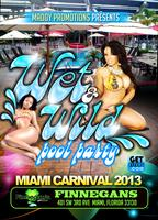 wet & wild pool party miami 2013