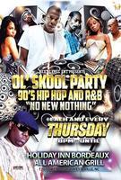 Thursday Night OL' SKOOL PARTY - 90's Hip Hop and R&B