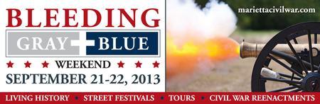 Bleeding Gray and Blue Walking Tour