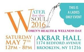Water for the Soul 2016 Women's Health and Wellness Day