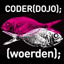 CoderDojo Woerden en regiobibliotheek Het Groene Hart logo