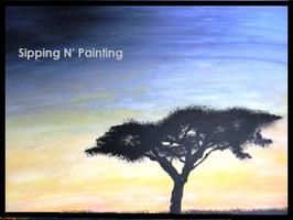 Sip N' Paint Acacia Tree Sat June 2 4pm