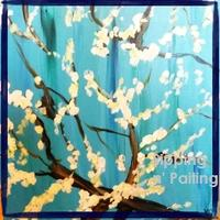 Sip N' Paint Van Gogh Branches Sat June 9 7:30pm