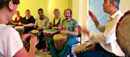 African Djembe Drumming Courses