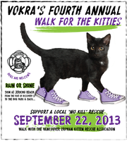 VOKRA's 4th Annual Walk for the Kitties