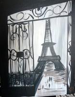 Sip N' Paint Eiffel Tower Thur June 21st 6pm