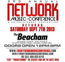 3rd Annual Network Music Conference Saturday Sept 7th...