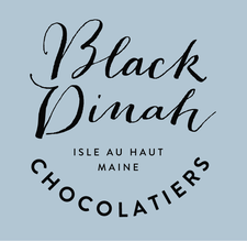 Black Dinah Chocolatiers logo