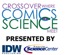 Crossover: Where Comics and Science Meet logo