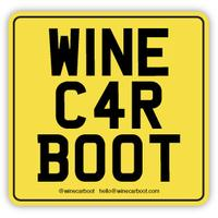 WINE CAR BOOT