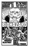 Biohazard at The El'n'Gee Club !
